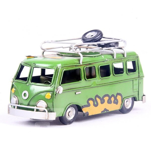 Cute Creative Bus Desktop Decoration