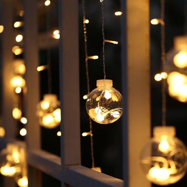 decorative 3 meter indoor outdoor string night lights. Black Bedroom Furniture Sets. Home Design Ideas