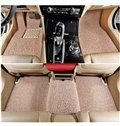 Fashional Cool Solid Popular Dirt Slip Texture Thicken Dedicated Car Carpet