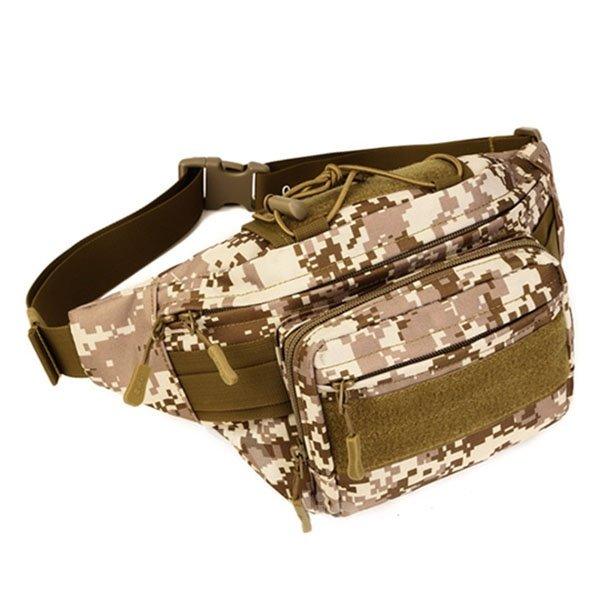 Military Outdoor Deployment Tool Holder Trekking Hiking Running Waist Bag