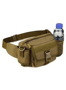 Outdoor Running Hiking Lightweight Daybag with Bottle Holder Running Waist Bag