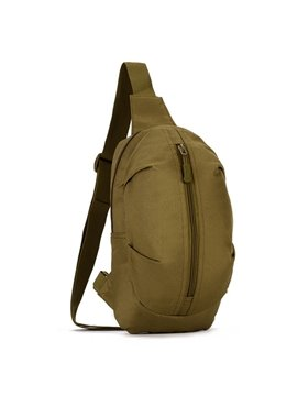 Single Shoulder Simple Style Outdoor Camping Trekking Backpack Daypack