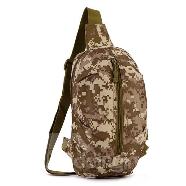 Single Shoulder Simple Style Outdoor Camping Trekking Backpack Daypack