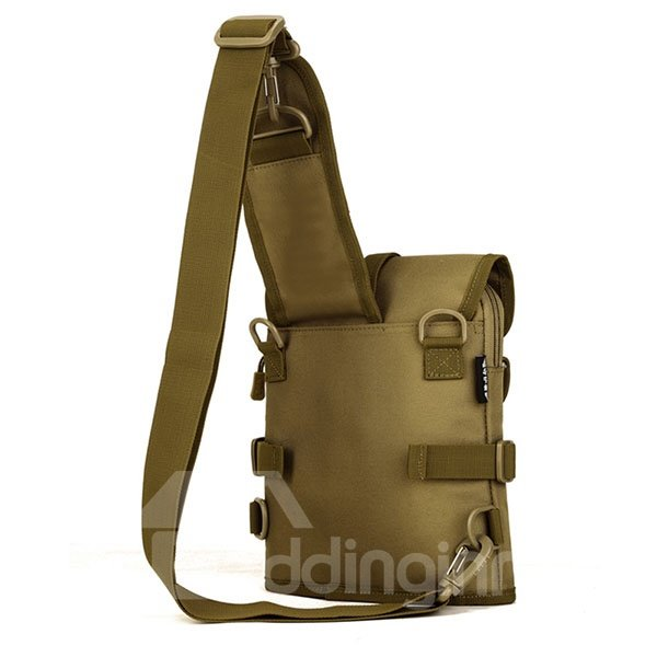 Single Shoulder Crossbody Chest Bag Outdoor Camping Trekking Daypack