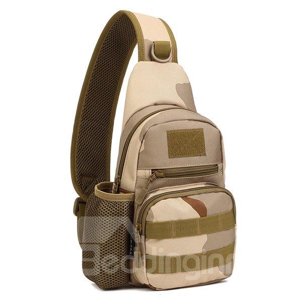 Lightweight Camouflage Shoulder Waterproof Easy-Clean Outdoor Chest Bag Bckpack