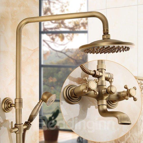 European Style Antique Brass Shower Heads