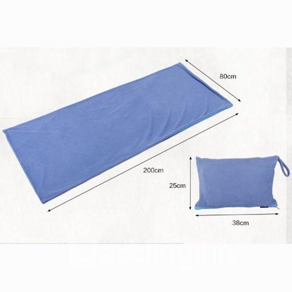Portable Rectangular Travel Pillow Outdoor Camping Trekking Sleeping Bag