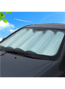 Laser Reflective Material Popular Sunshade Thicken Car Sun Shades