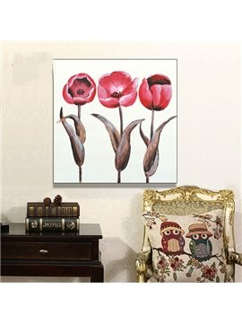 100% Hand Painted on Canvas Flowers Oil Painting