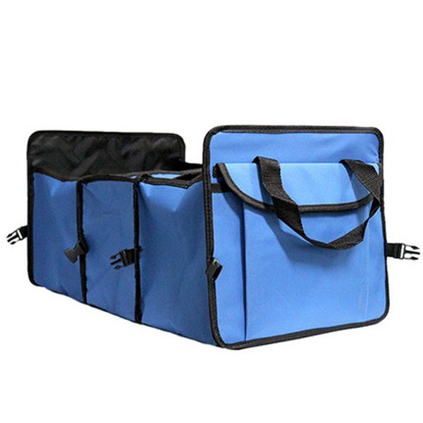 Foldable Heavy Duty Car Trunk Organizer With Insulation Bags