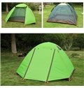 3-4 Person One Bedroom Screened Waterproof Aluminum Outdoor Camping Hiking Tent