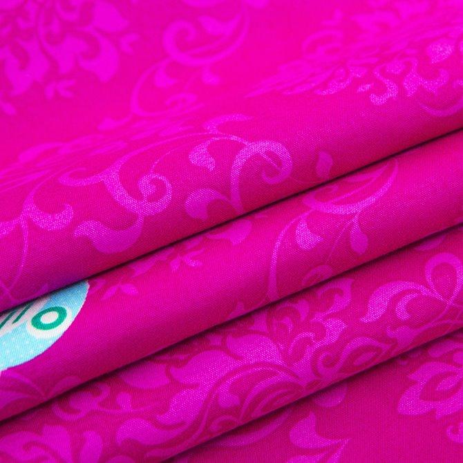 Gorgeous Contrast Color Exotic Pattern Polyester 4-Piece Duvet Cover Sets