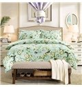 American Pastoral Style Flowers and Birds 4-Piece Cotton Bedding Sets