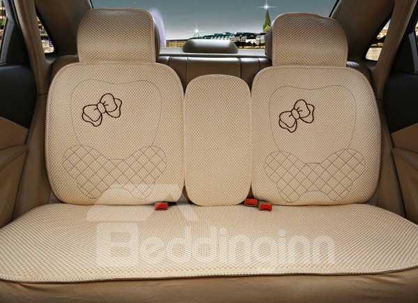 Luxurious And Charming Girls Style Universal Car Seat Cover