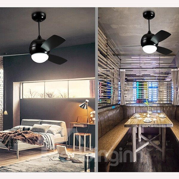 Modern European Style Ceiling Fan Living Room Ceiling Light