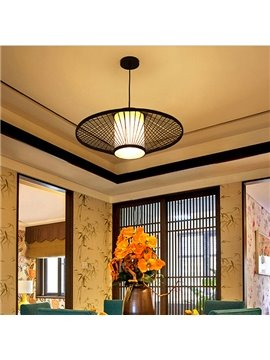 Black Creative Birdcage Decorative Ceiling Light