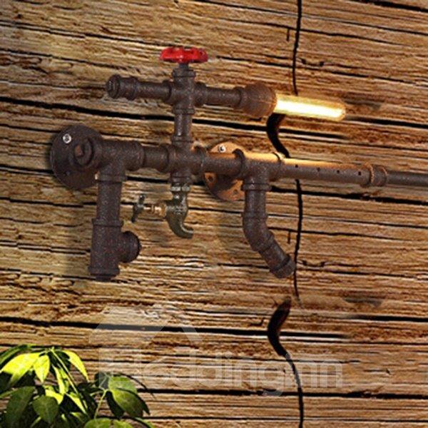 Classic European Style Gun Shape Decorative Wall Light