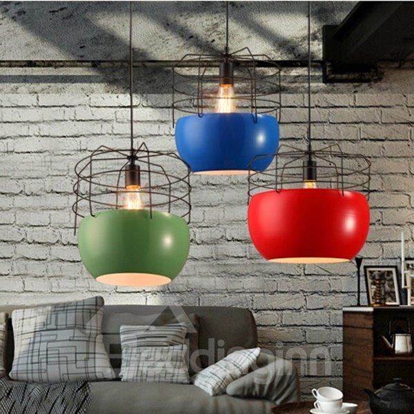 Modern Fashion Iron Net Shape Coffee and Bar Ceiling Light