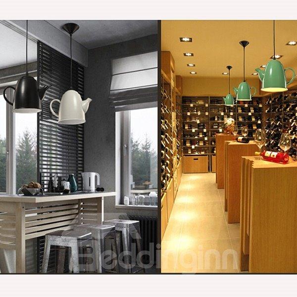 Creative Iron Coffee Shop or Bar Decorative Ceiling Light