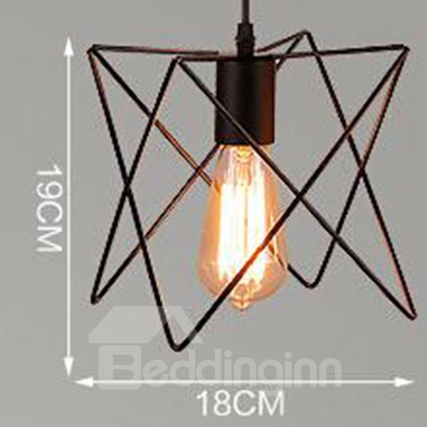 New Arrival Classic Simple Personalization Iron Ceiling Lights