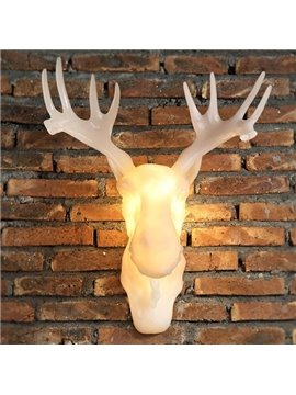 Creative European Style Antler Decorative Wall Light