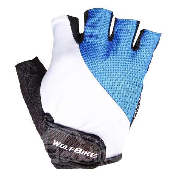 Unisex Breathable Mountain Bike Shock-absorbing Cycling Half Finger Gloves