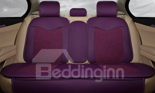 Environment Flax Surface Material And Heat Ventilation Universal Car Seat Cover