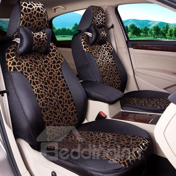 Luxurious And Sexy Leopard Design Most Popular Universal Car Seat Cover