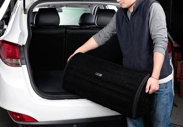 Super Large And Special Cool High Capacity Car Trunk Organizer