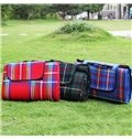 Outdoor Camping Hiking Traveling Grid Pattern Picnic Foldable Ground Mat