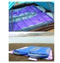 Attachable Purple Ultra Light Camping Hiking Traveling Tapered Envelope Sleeping Bag