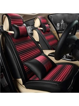 Beautiful And Charming Painting Art Style Five Universal Car Seat Cover
