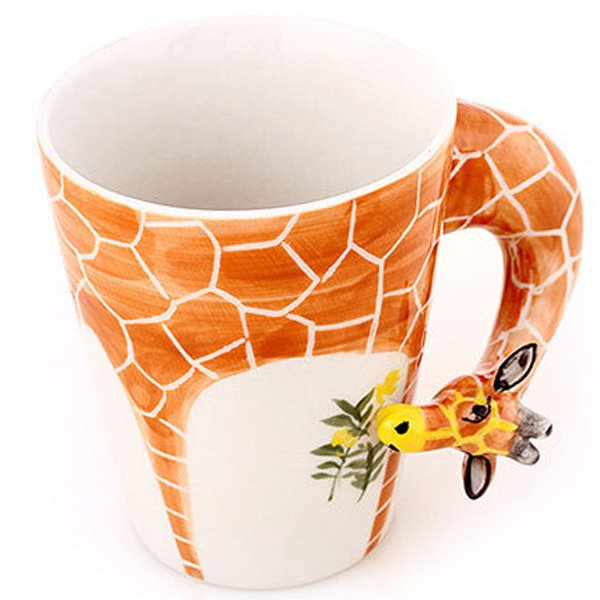 Stunning Creative Giraffe Design Ceramic Coffee Cup