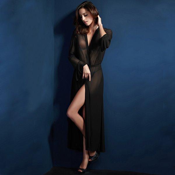 Sexy Ultra-Thin Modal Cotton Bathrobe