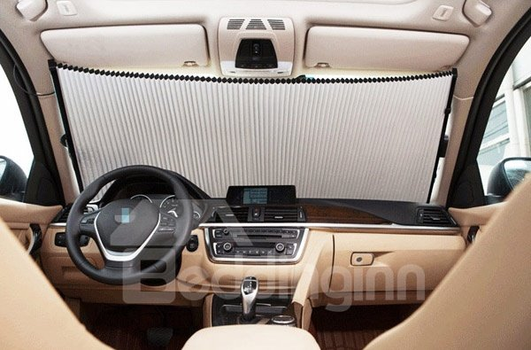 Environment Non-Woven Material And Good Reflective Effect Car Sun Shades