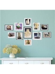 Simple Desktop Decoration Photo Frame Wall Sticker