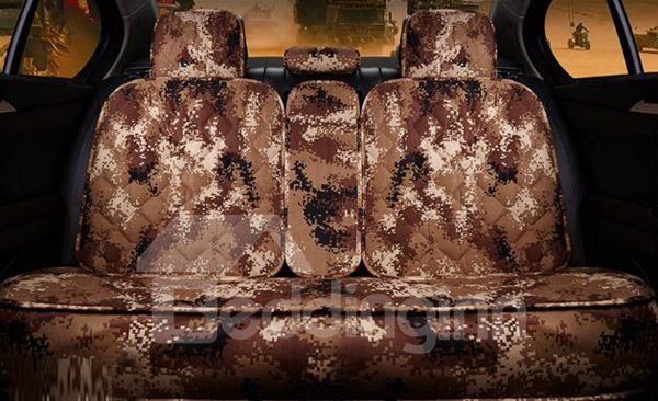 New Camouflage Style Charming Universal Five Car Seat Cover