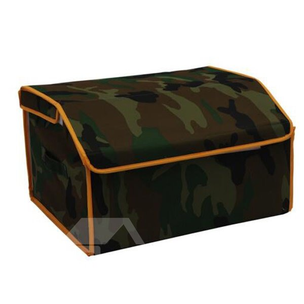 Outdoor Necessary Camouflage Graffiti Pattern Non-Woven Car Organizer