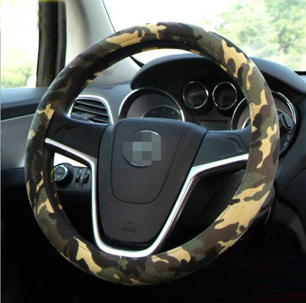 Camouflage Graffiti Classic Attractive Universal Steering Wheel Cover