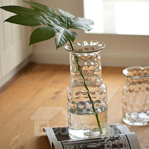 Creative Transparent Handmade Dot Glass Flower Vases