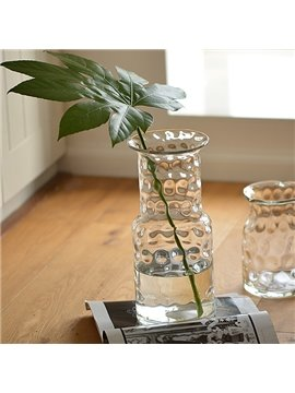 Creative Transparent Handmade Dot Glass Flower Vases