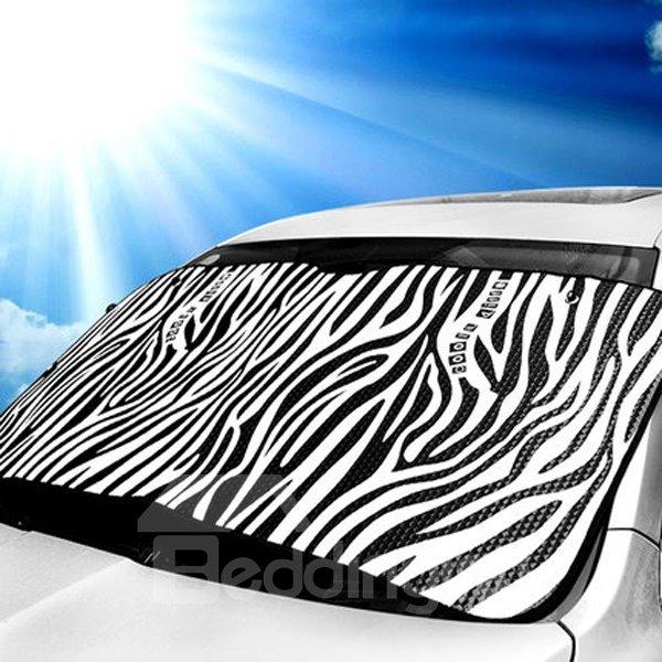 Double Layer Sun Block And Good Reflective Effect Car Sun Shades