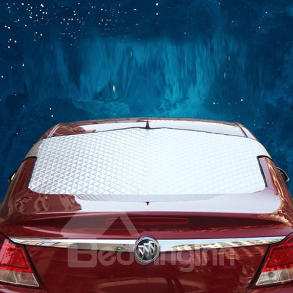 Most Popular Aluminum Foil Material Rear Single Car Sun Shades