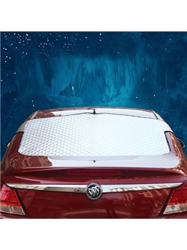 Most Popular Aluminum Foil Material Rear Single Car Sun Shades