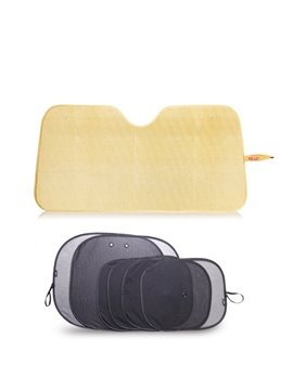 Seven Sets Tyrant Gold Style Car Sun Shades