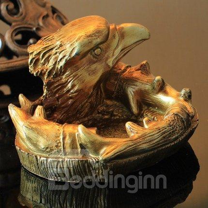 Very Popular Vintage Mid-Century Golden Eagle Design Ashtray