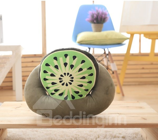 Sweet Multi-Functional and Detachable Watermelon Air Conditioning Blanket Nap Pillow