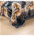 Ultra Cozy Personalized Leopard Polyester Blanket