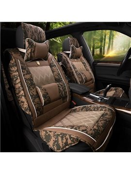 Unusual Luxurious Camouflage Design Substantial Cool Popular Universal Car Seat Cover