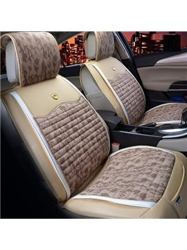 Rubbing And Anti-Dust Good Permeability Universal Five Car Seat Cover